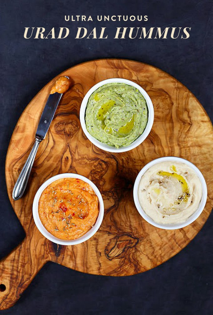 Ultra Unctuous Urad Dal Hummus + Dosha Variations