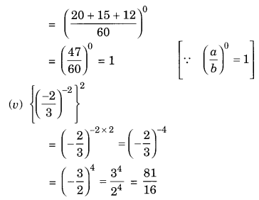 NCERT Solutions for Class 8 Maths Chapter 12 Exponents and Powers Q3.2
