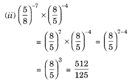 NCERT Solutions for Class 8 Maths Chapter 12 Exponents and Powers Q6.2