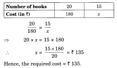 Direct and Inverse Proportions Class 8 Extra Questions Maths Chapter 13 Q3