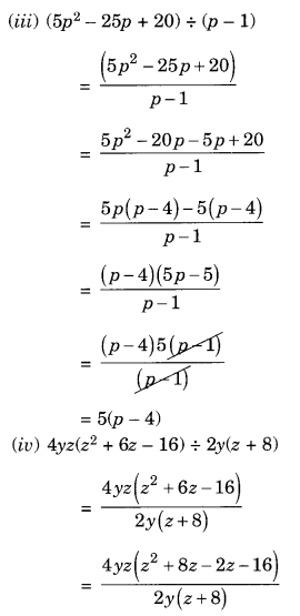 NCERT Solutions for Class 8 Maths Factorisation Ex 14.3 Q5.2