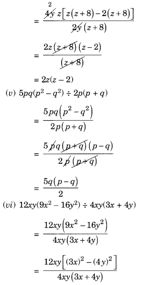 NCERT Solutions for Class 8 Maths Factorisation Ex 14.3 Q5.3
