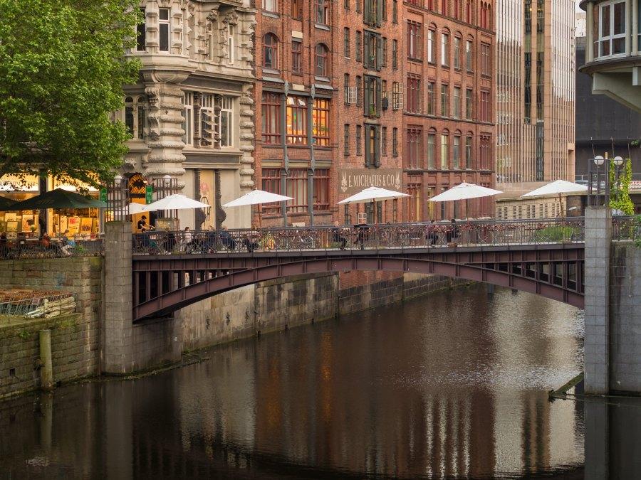 Michaelisbrücke: bijzondere bruggen in Hamburg | foto Torsten Schlüter