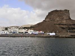"""La Playa de Las Nieves se queda sin Bandera Azul porque """"están previstas obras de ampliación del Puerto de Agaete"""""""
