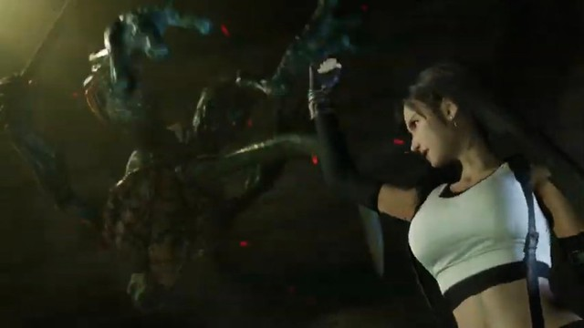 Final Fantasy VII Remake - Tifa Tit Tracking