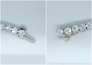 Anjolee Diamond Jewelry ~ Diamond Tennis Bracelet Review @anjolee_diamond #MySillyLittleGang #diamondtennisbracelet