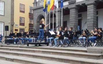 Las Escuelas Artísticas Ciudad de Guía participan en el I Encuentro Red Escuelas Artísticas de Gran Canaria