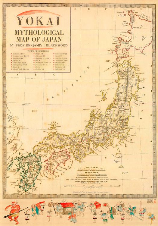 Mapa Yôkai