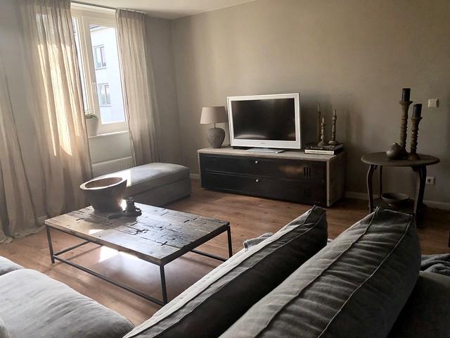 Tv meubel landelijk sober interieur