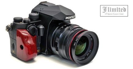 First detailed real world photos of new PENTAX KP J Limited Special Custom Model