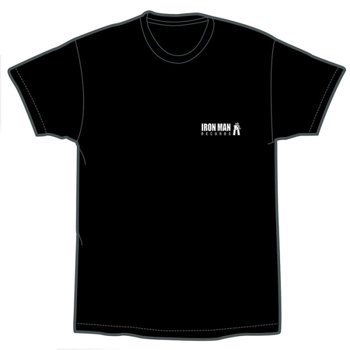 Iron Man Records T-Shirt Front Web