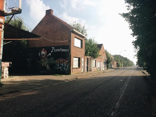 Doel, el pueblo fantasma...