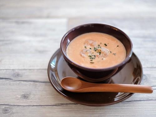 海老とトマトのスープ 20190615-DSCT6266 (2)