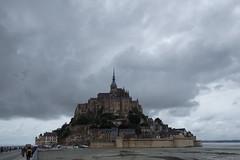 Veduta di Mont Saint-Michel
