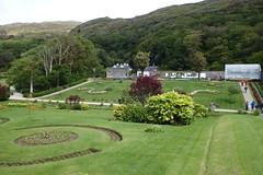 Il giardino dell'abbazia di Kylemore