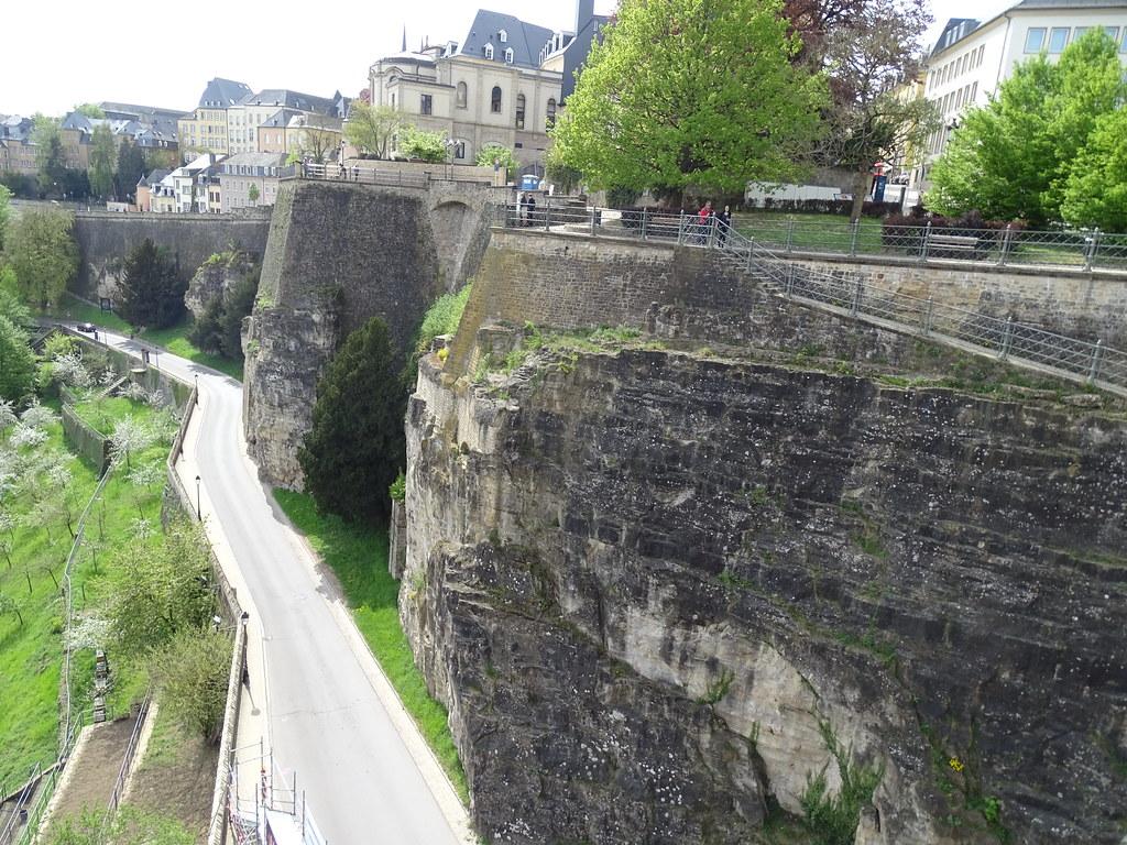 Casamatas del promontorio de Bock Chemin de la Corniche Balcon de Europa ciudad de Luxemburgo 01