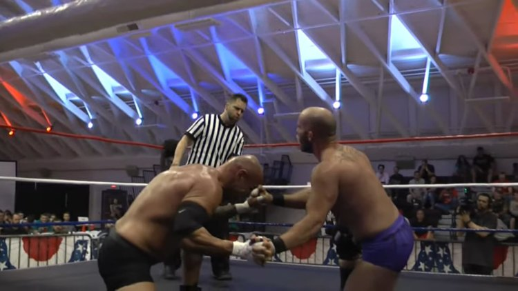 OVW Fight At Fort Knox Randall Floyd Alexander