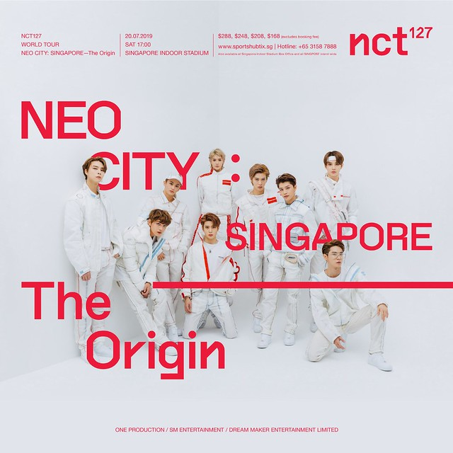 NCT 127 NEO CITY - The Origin in Singapore