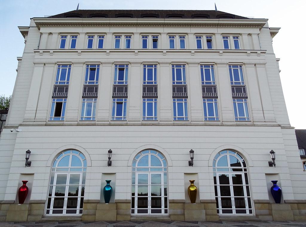 edificio Palacio de Justicia Meseta del Espiritu Santo ciudad de Luxemburgo 02