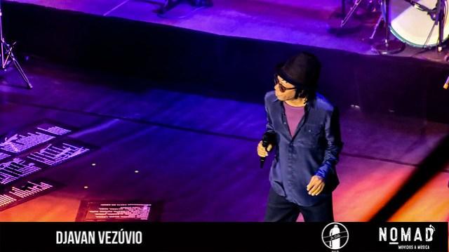 Djavan, na turnê Vesúvio no Central