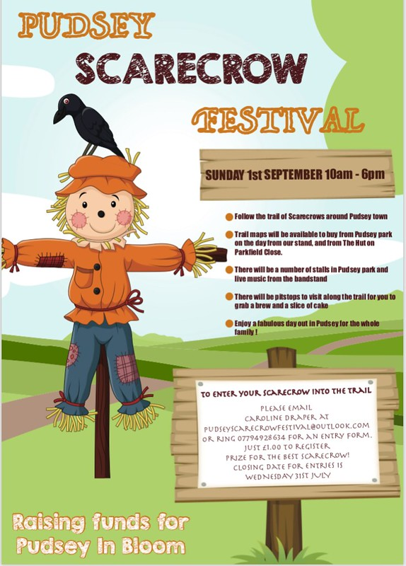 Pudsey Scarecrow Festival 2019 Poster