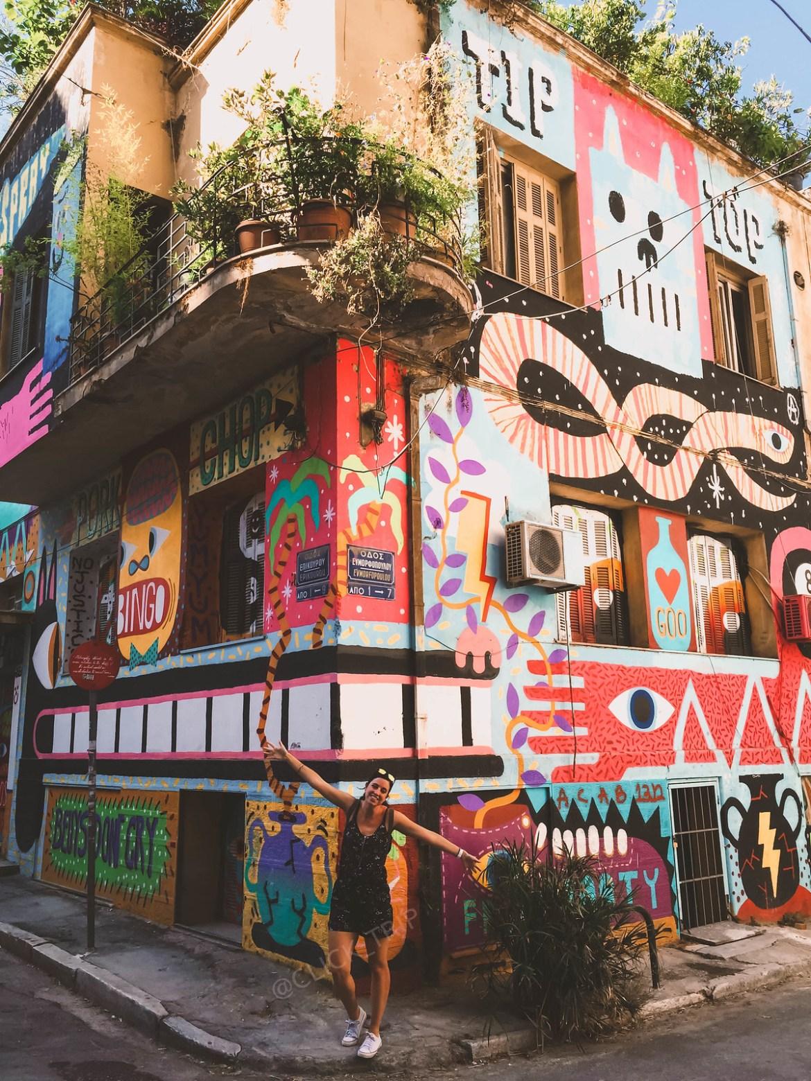 Rincones de Atenas | Arte Callejero en la cpaital de Grecia | ClickTrip