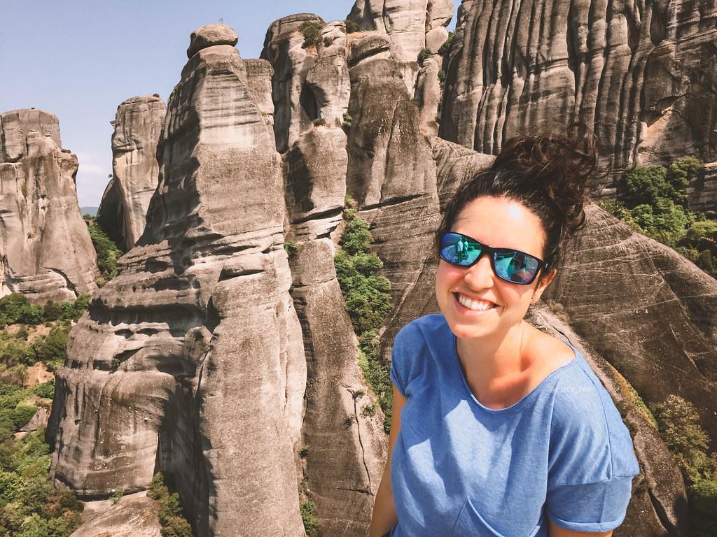 · Monasterios de Meteora - cómo llegar a Meteora - formaciones rocosas ·
