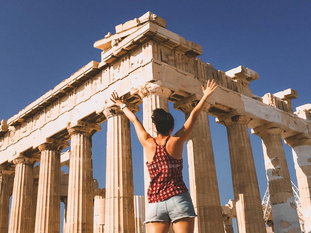· Partenón, Acrópolis de Atenas ·