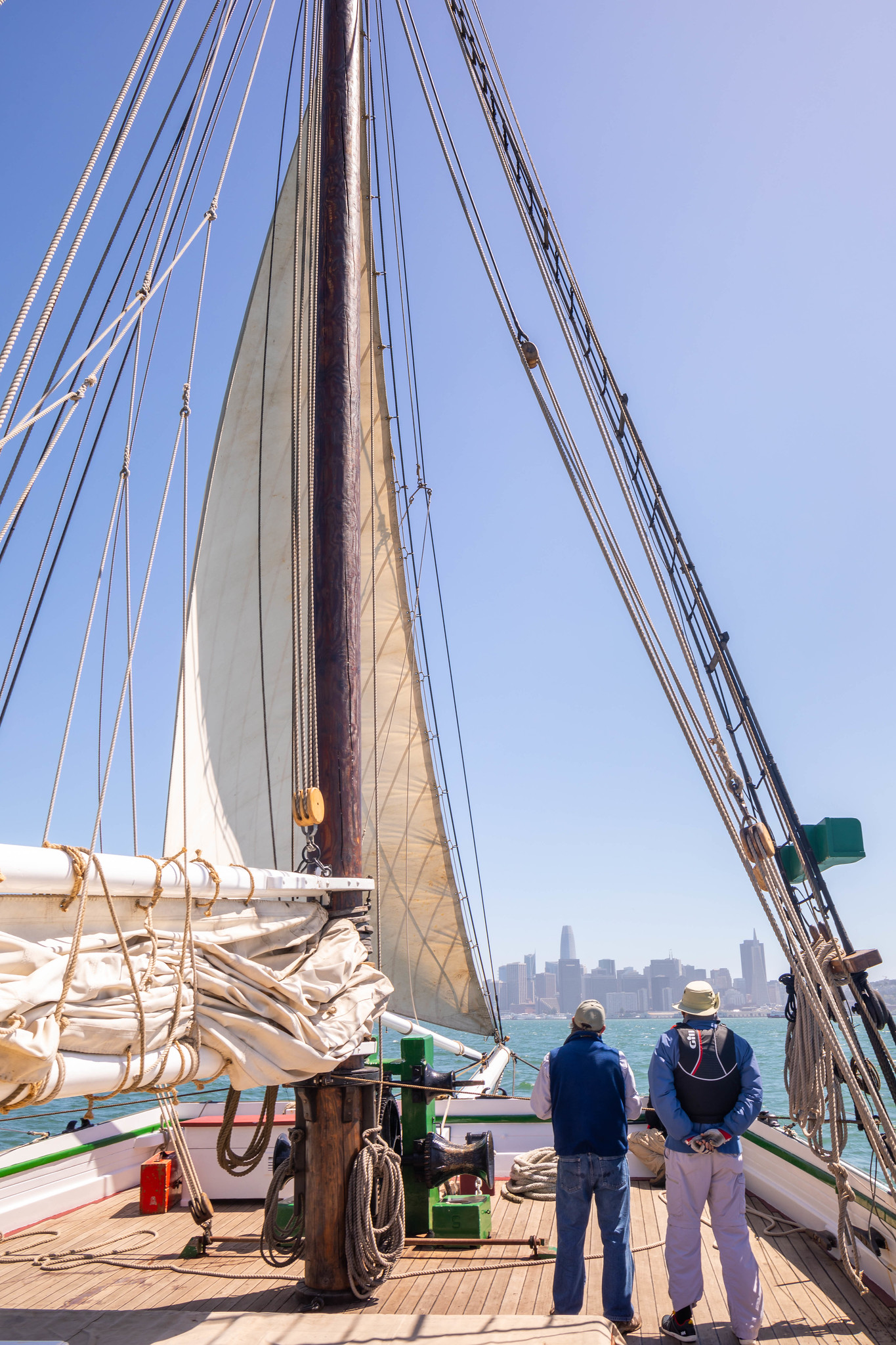 06.21. Sailing on Alma, San Francisco Maritime National Historic Museum