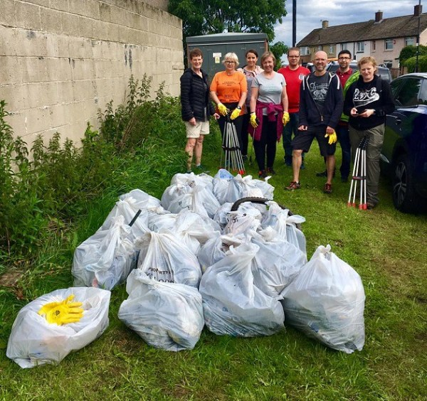 pudsey 10k litter pick 2