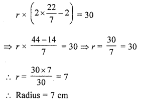 ML Aggarwal Class 7 Solutions for ICSE Maths Chapter 16 Perimeter and Area Ex 16.3 Q6