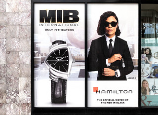Perforated Window Vinyl for Hamilton Watches