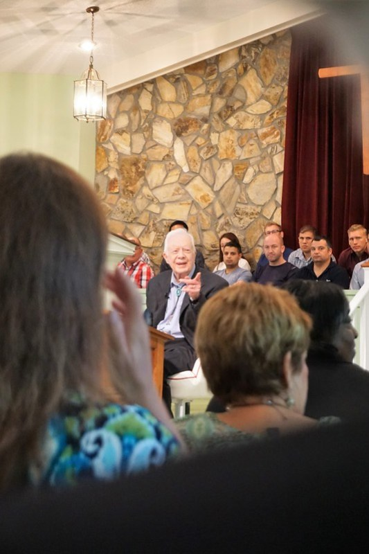 Sunday School with Former President Carter, Maranatha Baptist Church, Plains, Ga., June 23, 2019