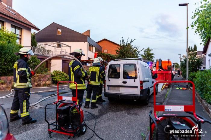 Undichtes Gasfahrzeug Breckenheim 25.06.19
