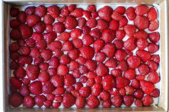 use every strawberry