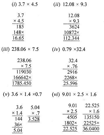ML Aggarwal Class 6 Solutions for ICSE Maths Chapter 7