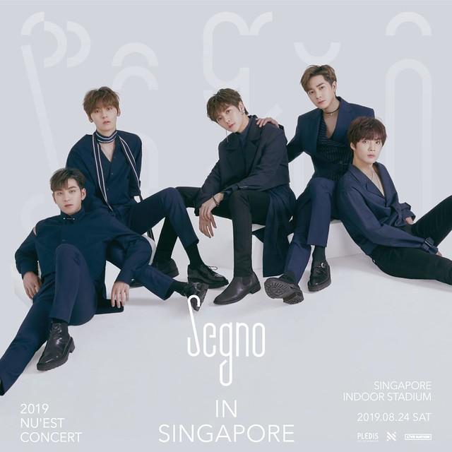 nuest segno tour in singapore