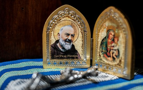 "Padre Pio | ""Pray, hope, and don't worry. Worry is useless. … 