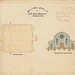 M5229 Plan of Show Pavilion for C. P. & A. Society Grafton (No.1) 1884