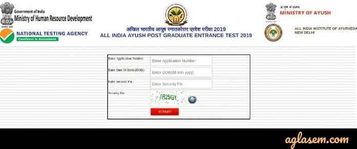AIAPGET 2019 Admit Card