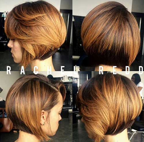 Graduated Bob Hairstyles