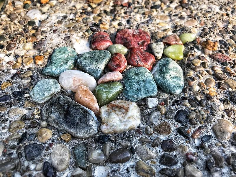 Concrete stones