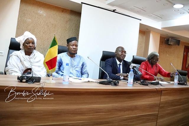 Madame Siidibé Fatoumata Sako, Présidente de la plateforme patriotique DÉFENDONS LE MALI et Première Vice-présidente du Parti pour le Développement Économique et la Solidarité (PDES)
