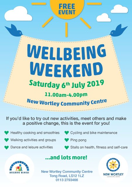 new wortley wellbeing weekend