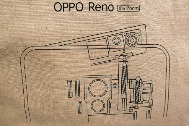 デザイン性と機能性の両立。OPPO 「Reno 10x Zoom」