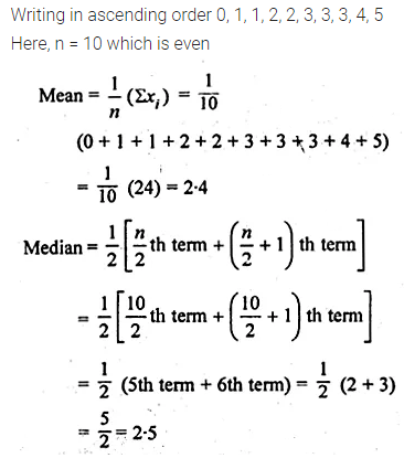 ML Aggarwal Class 10 Solutions for ICSE Maths Chapter 21 Measures of Central Tendency Ex 21.2 Q3