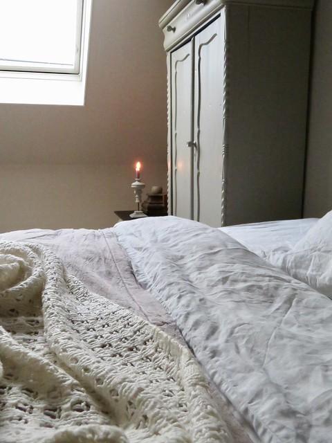 Slaapkamer landelijk warm