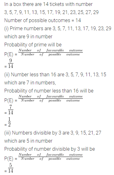 ML Aggarwal Class 10 Solutions for ICSE Maths Chapter 22 Probability Ex 22 Q29