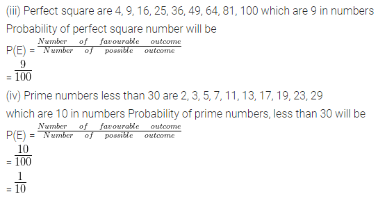 Understanding ICSE Mathematics Class 10 ML Aggarwal Solutions Chapter 22 Probability Ex 22 Q31.1