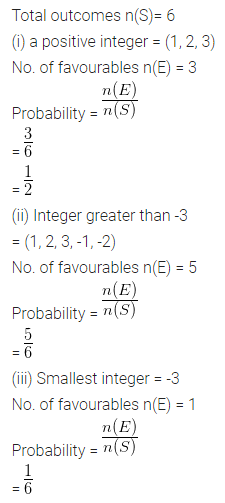 ML Aggarwal Class 10 Solutions for ICSE Maths Chapter 22 Probability Ex 22 Q18